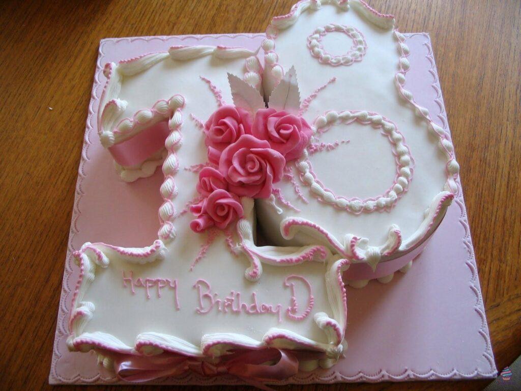 Торт на 18 лет девушке или парню на день рождения из натуральных ингредиентов