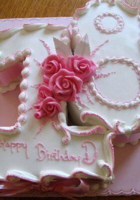 Торт на 18 лет девушке или парню на день рождения