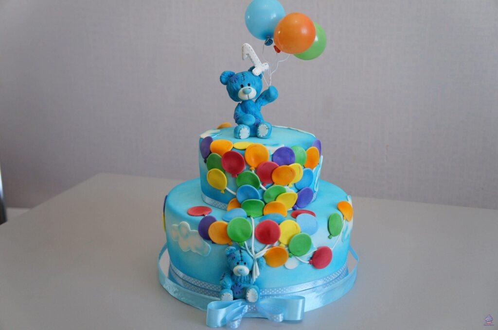 Торт для мальчика на год ( 1 годик ) из натуральных ингредиентов