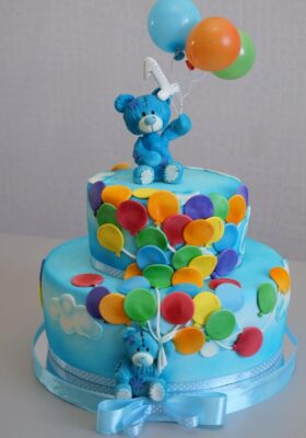 Торт для мальчика на год