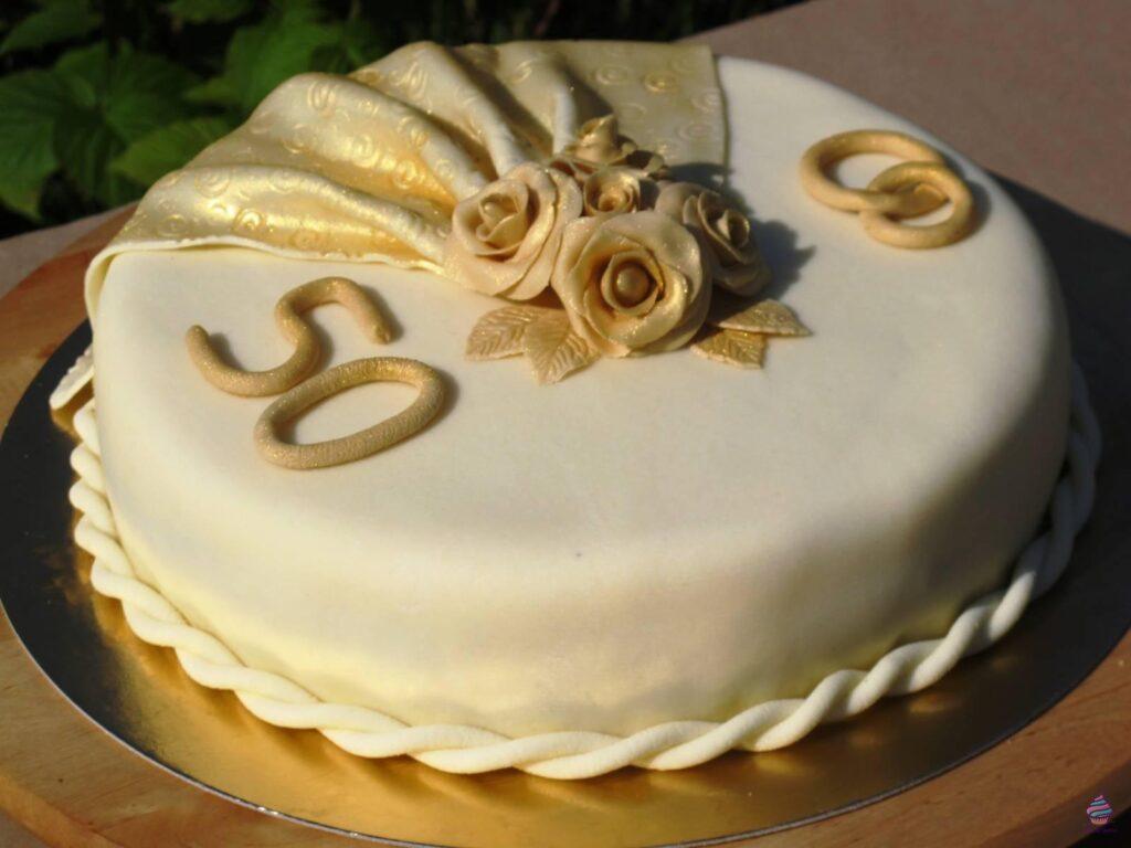 Торт на юбилей, годовщину свадьбы из натуральных ингредиентов