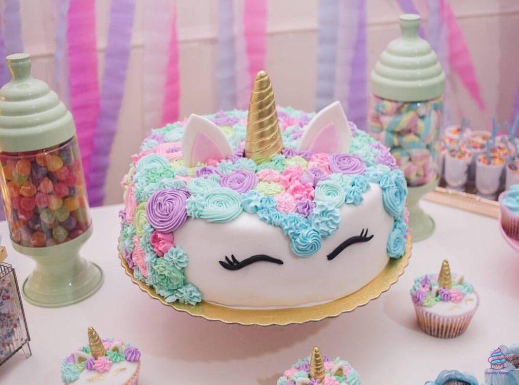 Торт для девочки на день рождения из натуральных ингредиентов