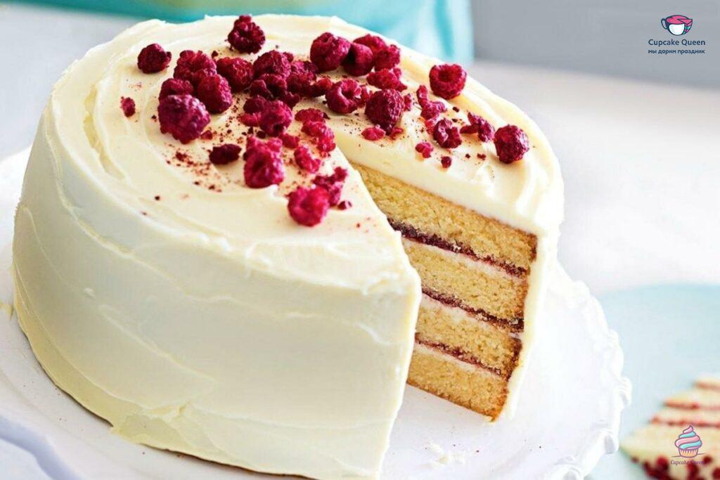 Бисквитные торты на заказ из натуральных ингредиентов