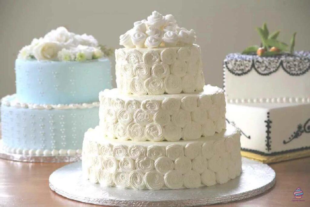 Недорогой свадебный торт из натуральных ингредиентов