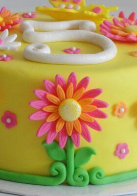 Торт на 5 лет девочке или мальчику день рождения
