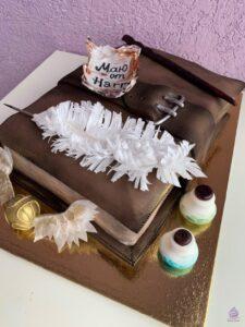 Торт из мастики на заказ Гарри Поттер
