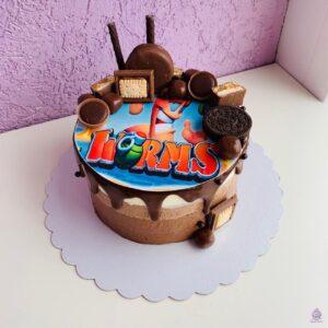 Торт 3 шоколада на заказ