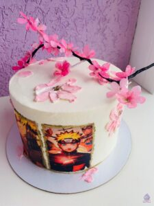 Аниме торт на заказ