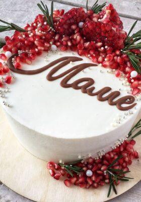 Торт на заказ на день рождения маме