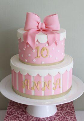 Торт на заказ для девочки 10 лет