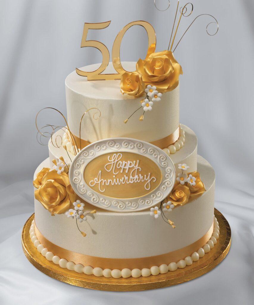 Торт на 50 лет юбилей на заказ купить из натуральных ингредиентов