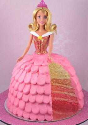 Торт на заказ кукла