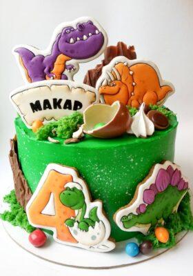 Торт на заказ 4 года мальчику