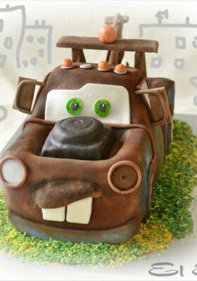 Торт на заказ в виде машины