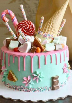 Торт на заказ на 10 лет