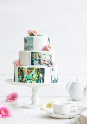 Торт с фотографией на заказ