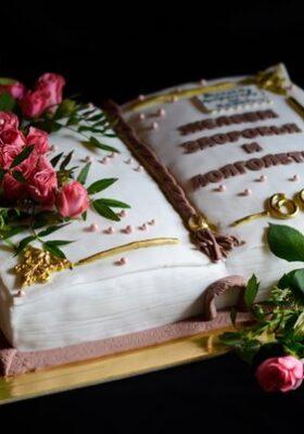 Торт на заказ на 60 лет