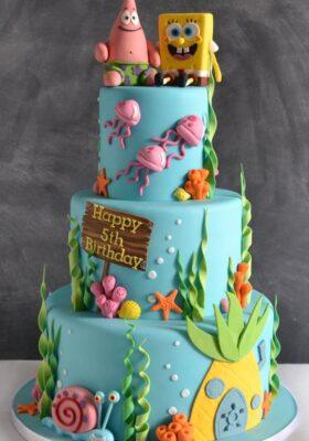 Торт на заказ 5 лет