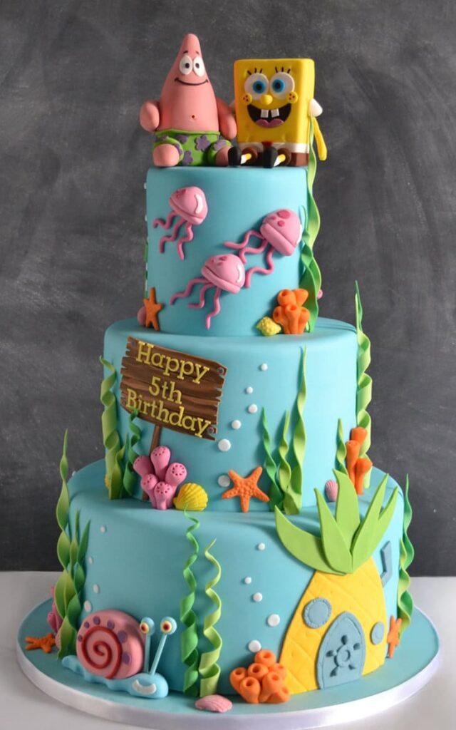 Торт на заказ на 5 лет купить из натуральных ингредиентов