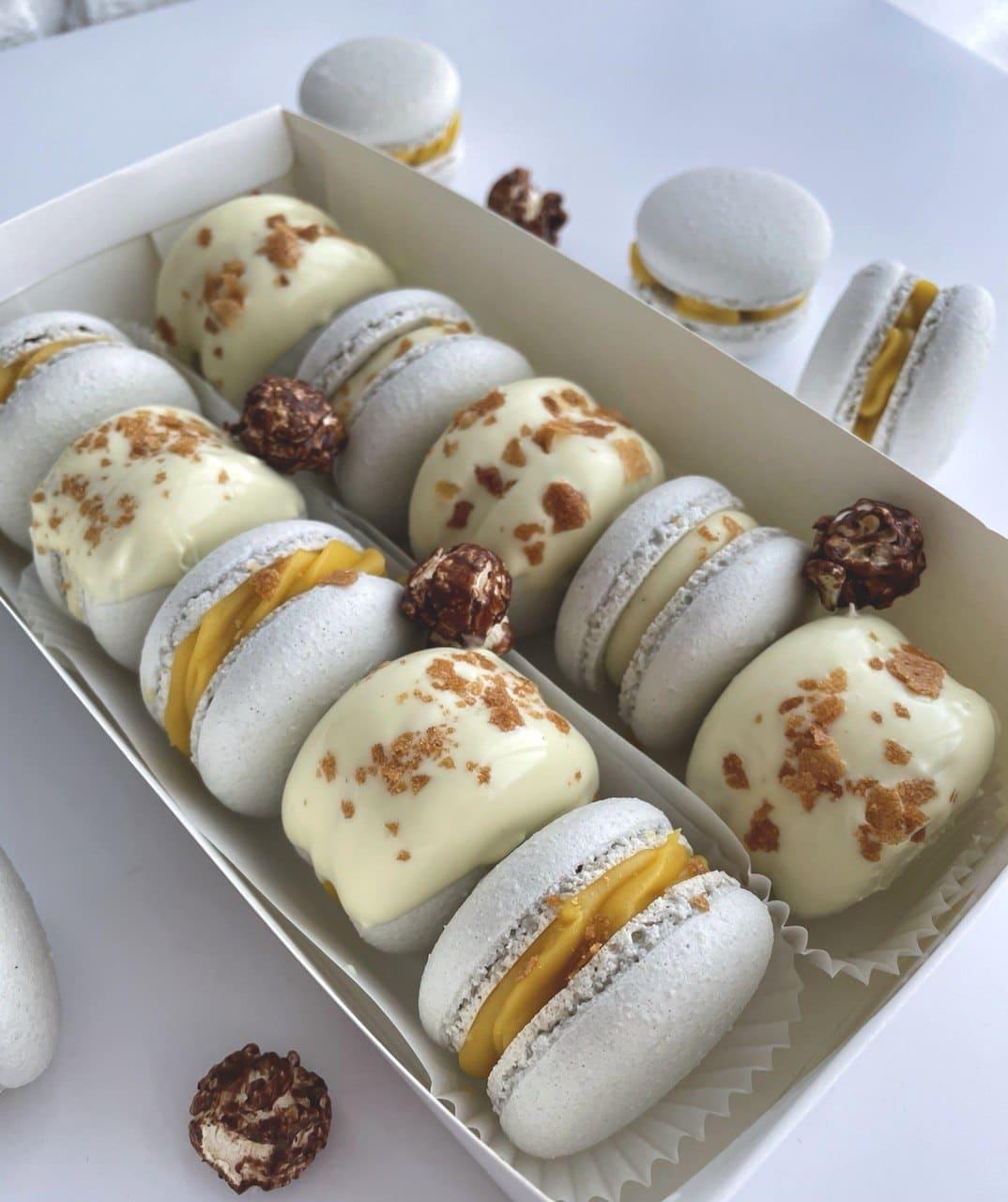 Макарон (макаронс, макарун) из натуральных ингредиентов