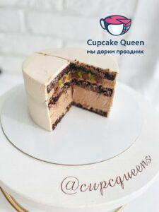 Тотально шоколадный торт на заказ